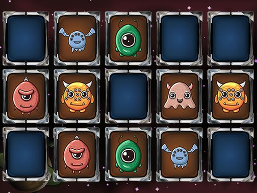 Aliens Memory Game Online