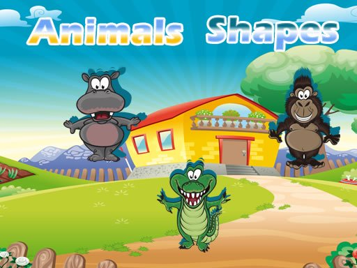 Animals Shapes Online