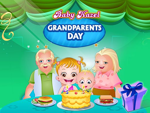 Baby Hazel Grandparents Day Online