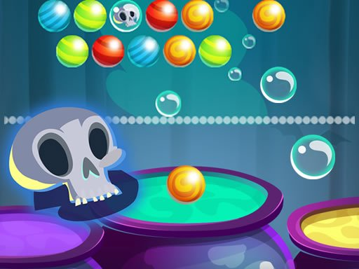 Bubble Shooter Halloween Online