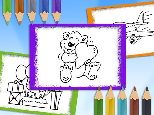 Cartoon Coloring Book Online