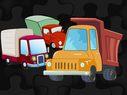Cartoon Truck Jigsaw Online