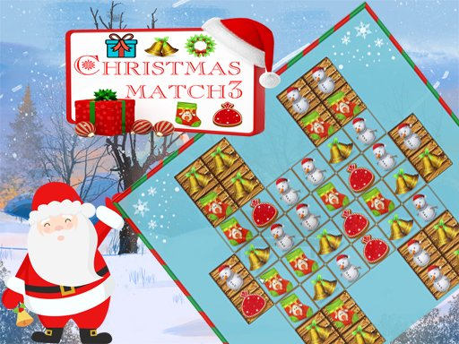 Christmas Match 3 Deluxe Online