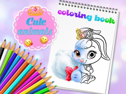 Cute Animals Coloring Book Online