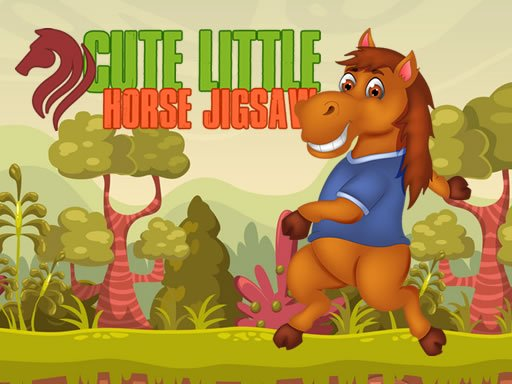 Cute Little Horse Jigsaw Online