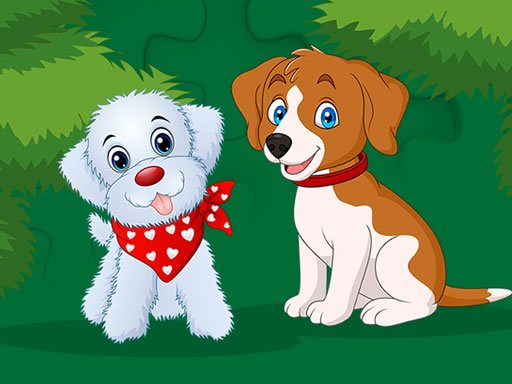 Cute Puppies Jigsaw Online