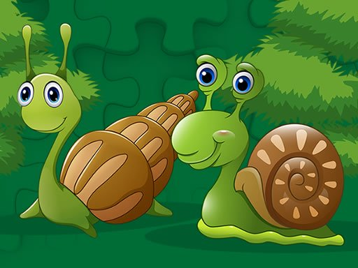 Cute Snails Jigsaw Online
