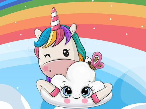 Cute Unicorn Jigsaw Online