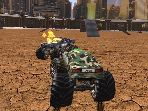Demolition Monster Truck Army 2020 Online