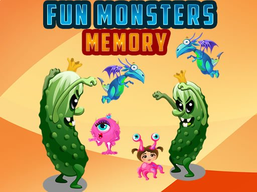 Fun Monsters Memory Online