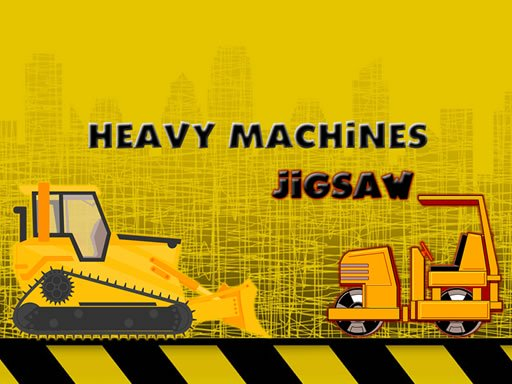 Heavy Machinery Jigsaw Online