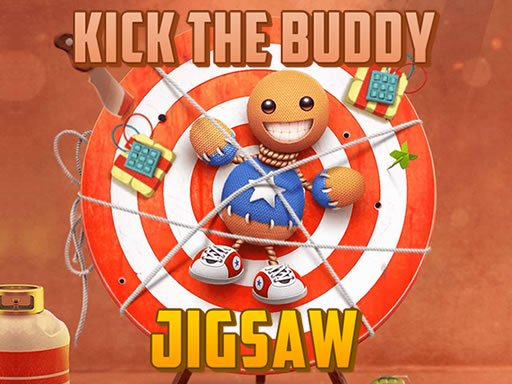 Kick the Buddy Jigsaw Online