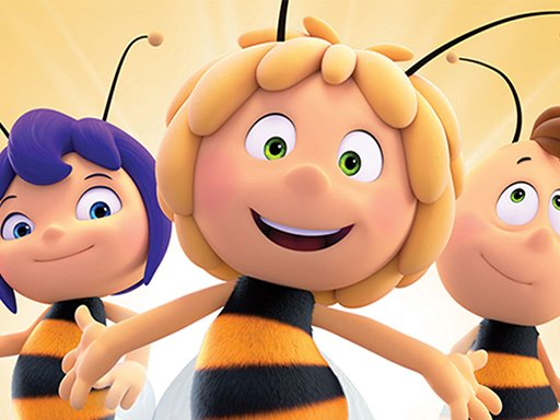 Maja the Bee Puzzle Online