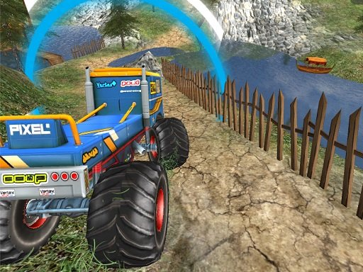 Monster Truck Offroad Driving Mountain Online