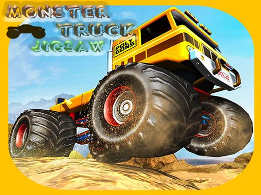 Monster Trucks Jigsaw Online