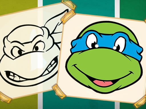 Ninja Turtles Coloring Book Online