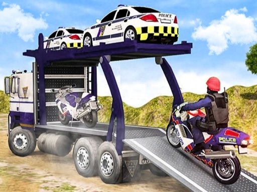 Offroad Police Cargo Transport Online
