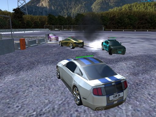 Parking Car Crash Demolition Multiplayer Online