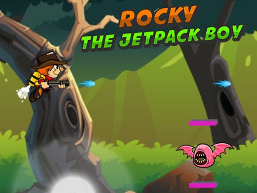 Rocky The Jetpack Boy Online