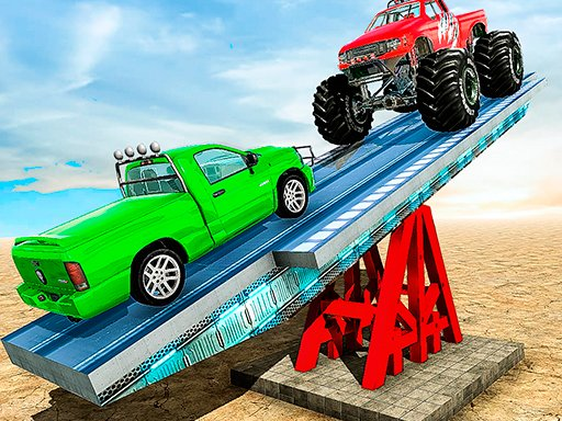 SeeSaw Ramp Car Balance Driving Challenge Online