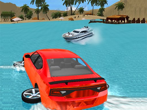 Water Slide Car Race Online