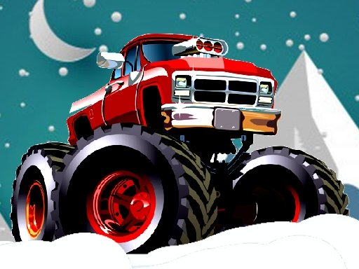 Winter Monster Trucks Race Online